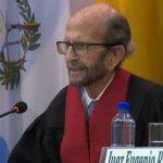 El Juez Eduardo Vio Grossi inicia sus preguntas.