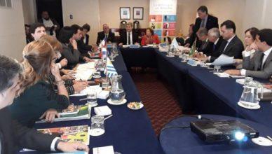 Reunión del consejo directivo de AIDEF
