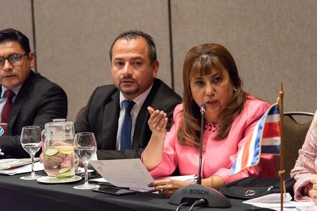 Defensa Pública de Guatemala, Nydia Arévalo, resultó electa.